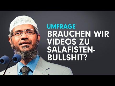 Umfrage: Brauchen wir ein Video über Salafisten-Quatsch von Pierre Vogel und Zakir Naik?