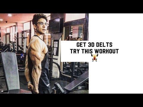 how to get 3-d delts full hindi tutorial | 5x5 technique | akshat fitness thumbnail