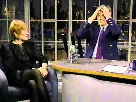 Image result for shirley maclaine and david letterman