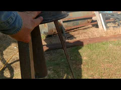 Wood forge
