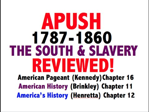 American Pageant Chapter 16 APUSH Review