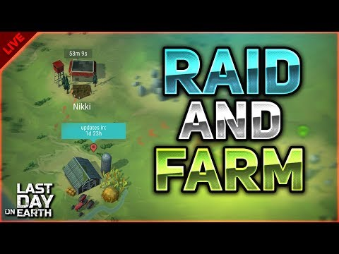 🔴 RAIDING AND THEN CLEARING FARM! - Last Day on Earth: Survival LIVESTREAM