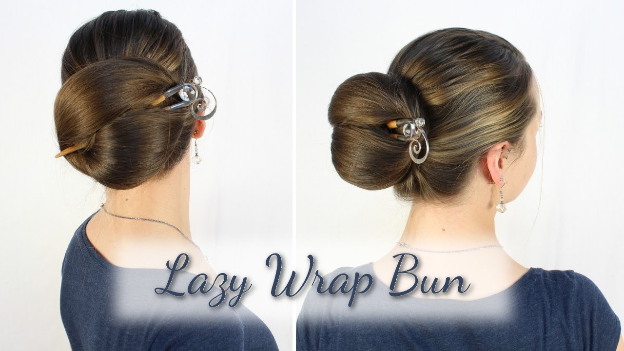 Lazy Wrap Bun How To And Tipps Youtube