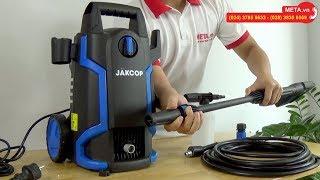 Review máy rửa xe Jakcop ABW-JK-70P phiên bản cải tiến mới, áp lực mạnh mẽ, tự hút nước từ xô chậu
