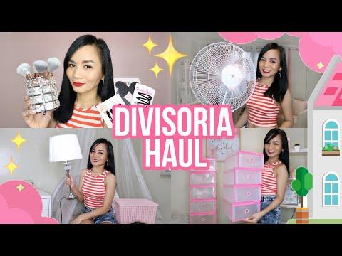 DIVISORIA HAUL & HOME DECOR TIPS FOR CONDO