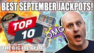 🏆TOP 10 Best Jackpots! 🏆September 2018 Slots | The Big Jackpot