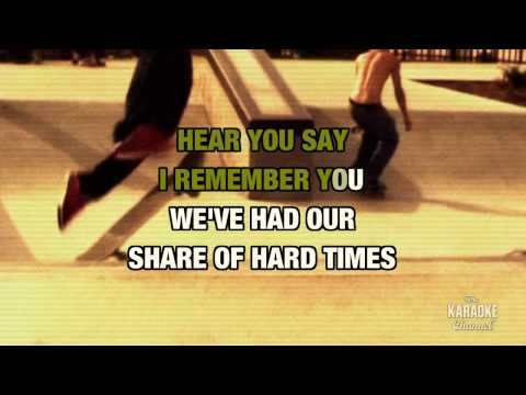 I Remember You in the style of Skid Row | Karaoke with Lyrics