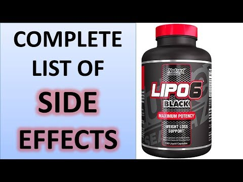 Nutrex Lipo 6 Black im Review - YouTube