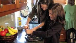 Cooking at Home with BAILEE MADISON and Her Family!