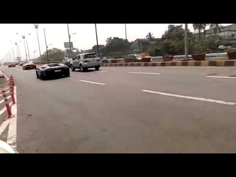 sports car on Mumbai Pune highway