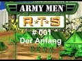 Let's Play Army Men RTS #001 - Der Anfang (Deutsch,German)