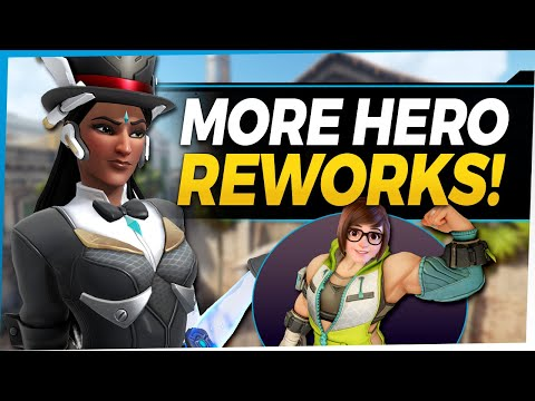 Overwatch Mei Rework  Symmetra Healing Turrets  Tank Changes and More!