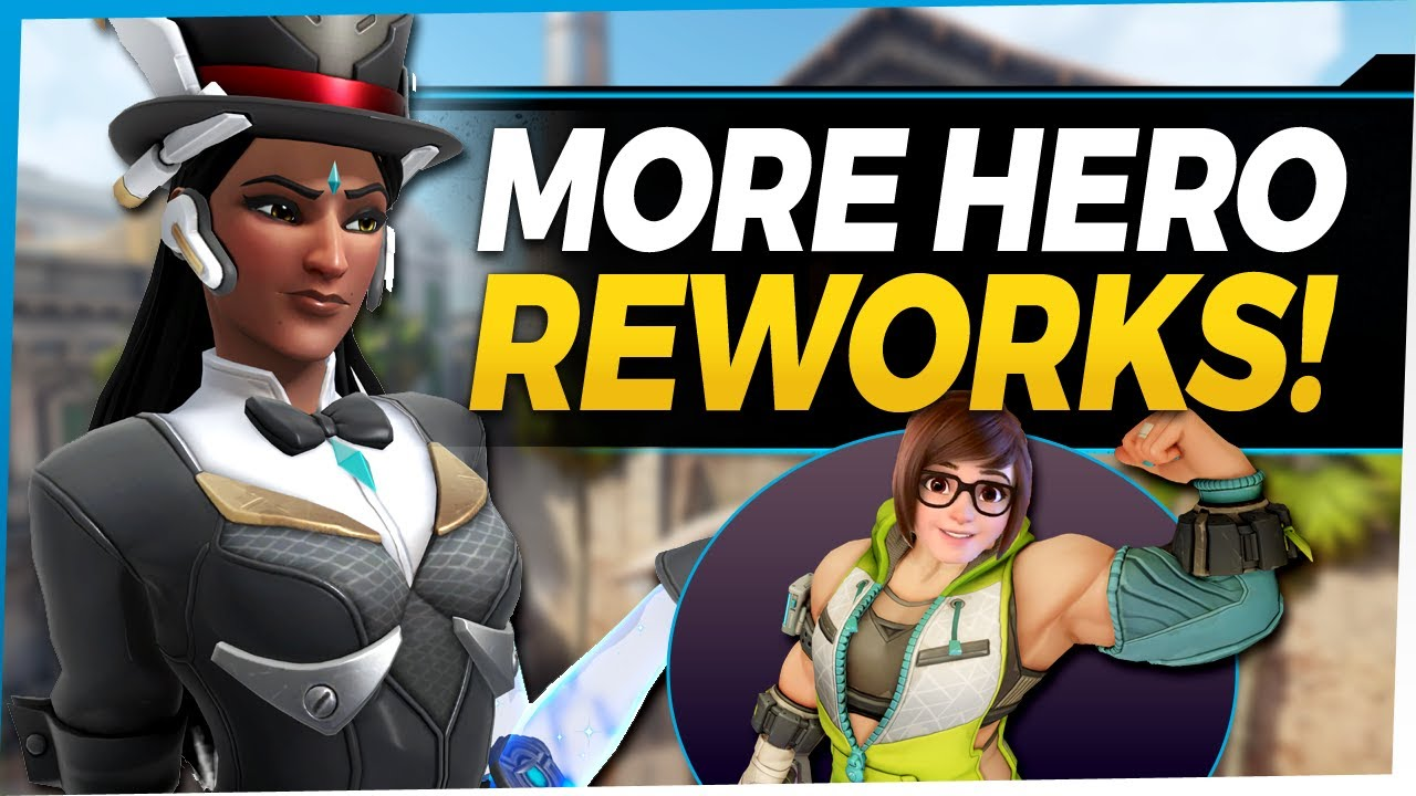 Overwatch Mei Rework - Symmetra Healing Turrets - Tank Changes and More!