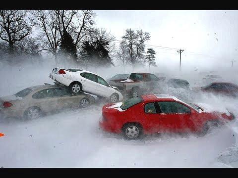 Снегопад в Москве! На Москву обрушился небывалый снегопад!