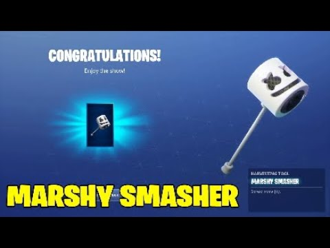 Fortnite Marshmello Pickaxe Sound And Gameplay.Use Keep It Mello - Showtime Challenges