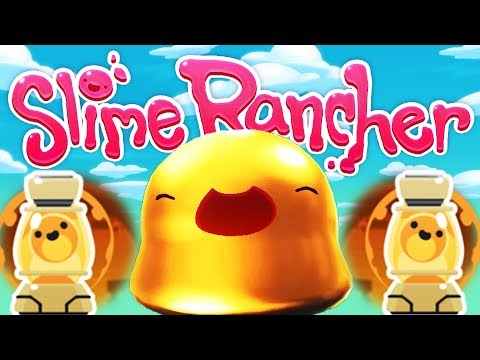 UNLOCKING the GOLDEN LAVA LAMP! - The Wilds Update! -  New Slime Rancher Gameplay