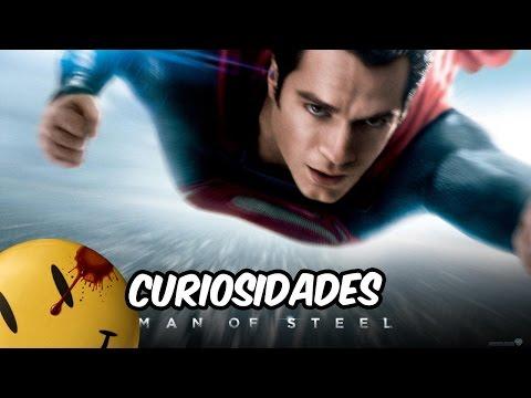 Curiosidades del Hombre de Acero | Man of Steel