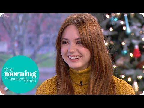 Karen Gillan Thanks Dr Who for Getting Her the Role in Jumanji: Welcome to the Jungle  This Morning