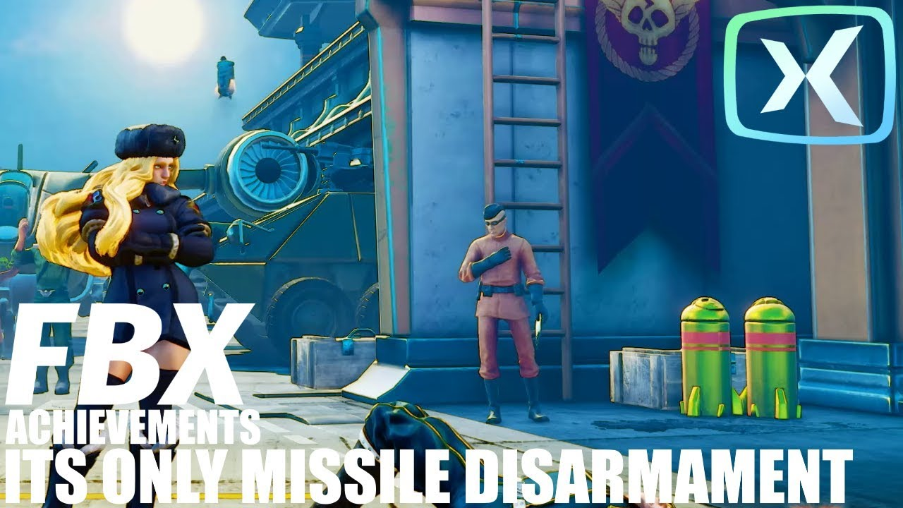 sfv its only missile disarmament