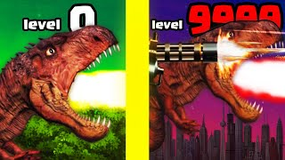 Mutating in THE MOST OVERPOWERED T-REX DINOSAUR CYBORG in Rio Rex