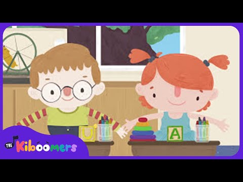 Clean Up Song | Transition Songs for Kids | The Kiboomers