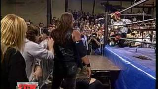 Scaffold Match: Tommy Dreamer vs. Brian Lee [ECW High Incident 1996]