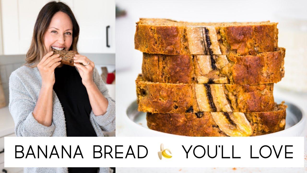 Download Moist Banana Bread Recipe | How to make the BEST Vegan Banana Bread | Healthy | Vegan Michele