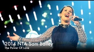 NTA 2014 - Sam Bailey performs 'The Power Of Love'