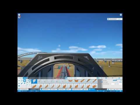 Planet Coaster - Building a Sci Fi Coaster! Particle Collider Part 1 |