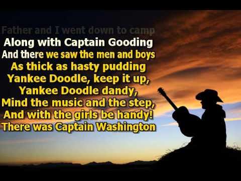 Karaoke for kids - Yankee Doodle