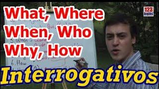 Preguntar en Inglés con Interrogativos