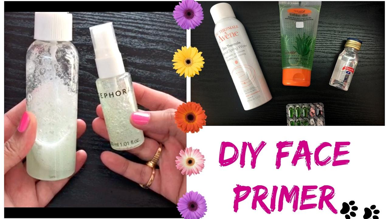 DIY Face Primer for Dry, Oily Sensitive Skin | How to use Primer | Beginners Tutorial
