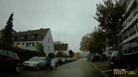 D: Große Kreisstadt Weil am Rhein. Landkreis Lörrach. Rundfahrt durch die Stadtmitte. Oktober 2019
