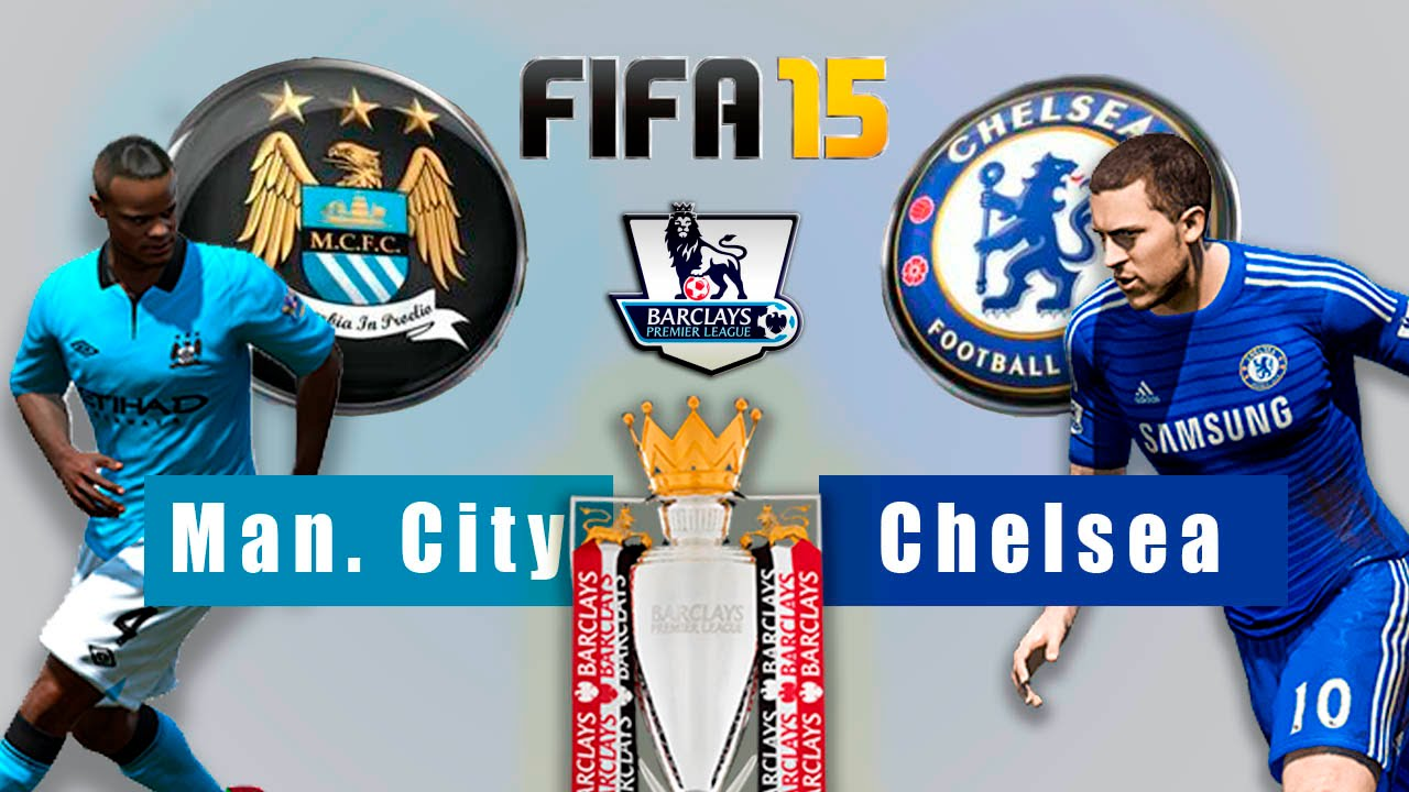 Chelsea Vs Man City: Fifa 15- Serie Premier League- Fecha 2- Manchester City Vs