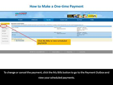 How to Make a One-Time Payment