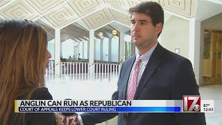 Chris Anglin can run as Republican, court of appeals decides
