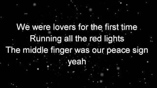 first time   lyrics kygo ellie goulding
