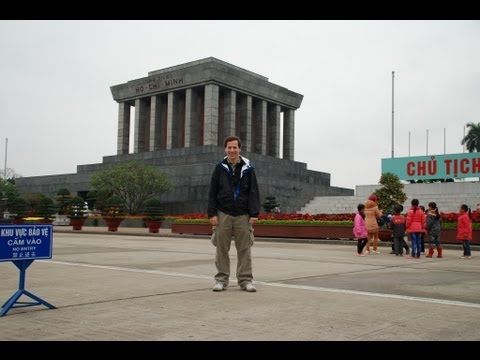 Ho Chi Minh Mausoleum-Hanoi, Vietnam (With Tour Guide History Lesson)