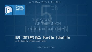 EUI Interviews: Martin Scheinin on the legality of mass surveillance