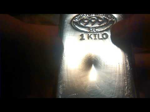 JM Bullion Silver Bar Unboxing JM SLC Kilo 10 Oz