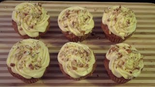Carrot Cake Cupcakes With Cottage Cheese Icing