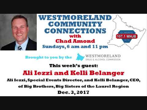 Westmoreland Community Connections - Dec. 3, 2017