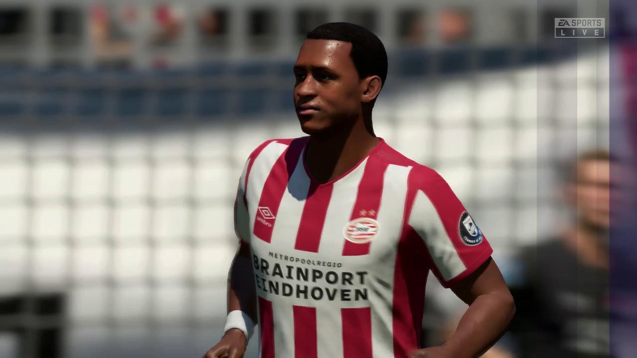 PSV Eindhoven VS AZ Alkmaar  Eredivisie  Gameplay - YouTube