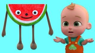 Karpuz Adam - Meyveleri Öğreten Bebek Şarkısı