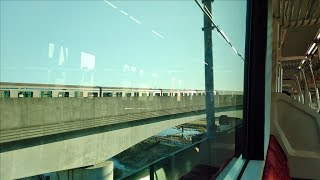 相鉄11002F横浜市営地下鉄と並走