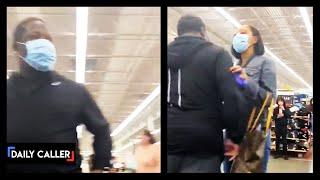 Masked Man Has Meltdown Over Maskless Shoppers At Walmart