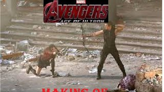Avengers:Age of ultron making-of video I los vengadores:La era de ultron set de rodaje video
