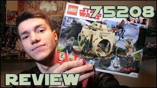 Lego Star Wars 75208 Yoda's Hut Review | Обзор ЛЕГО Звёздные Войны Хижина Йоды