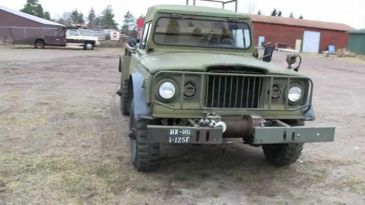 Kaiser Jeep For Sale >> 1967 M715 KAISER JEEP - YouTube