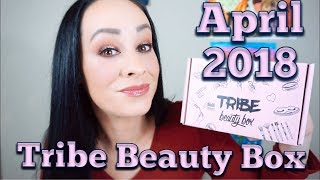 April 2018 Tribe Beauty Box..., so excited and underwhelmed????